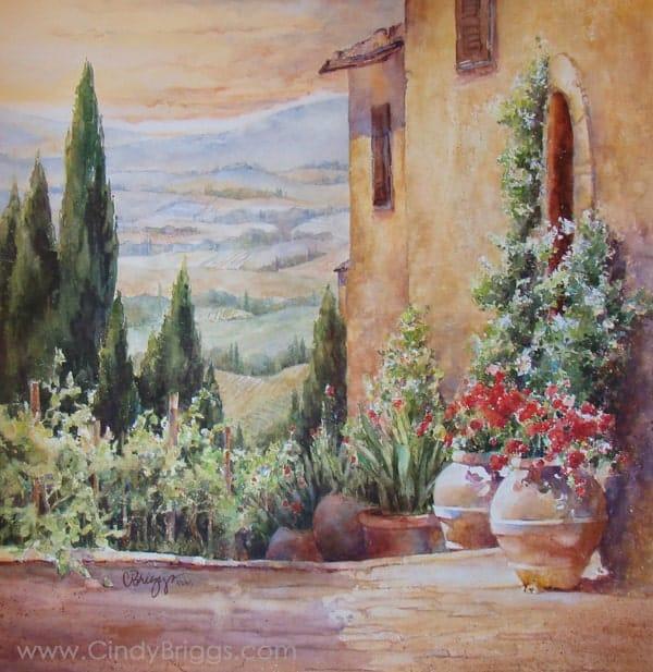 Tuscano Terrazzo by Cindy Briggs