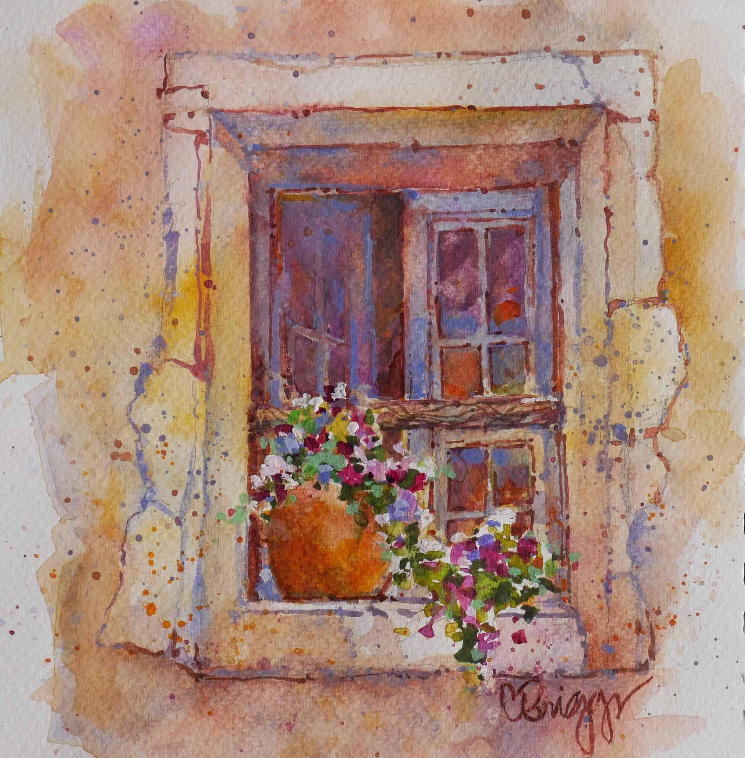 Le Baux, Le Baux Window
