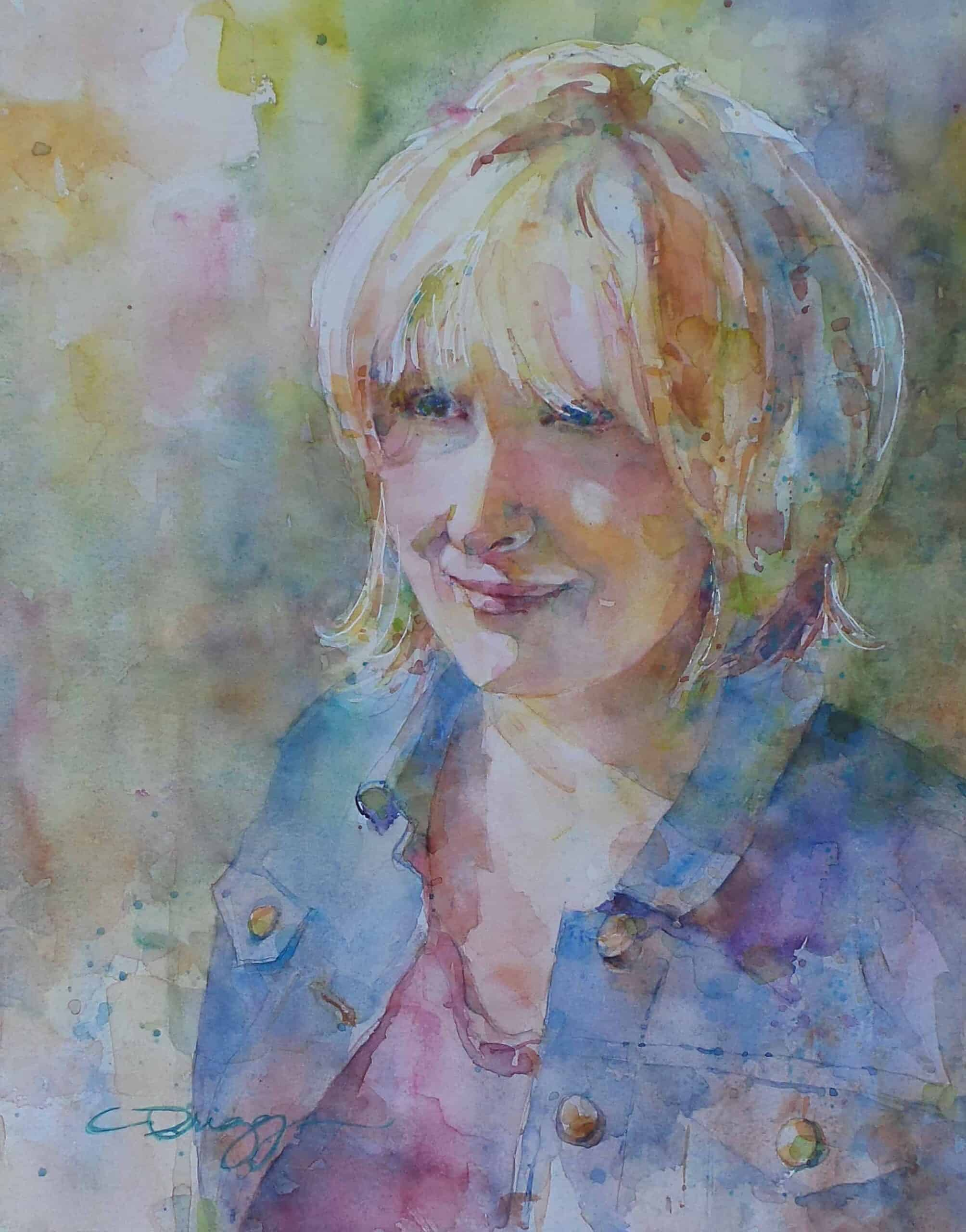 Self Portrait, Cindy Briggs Self Portrait