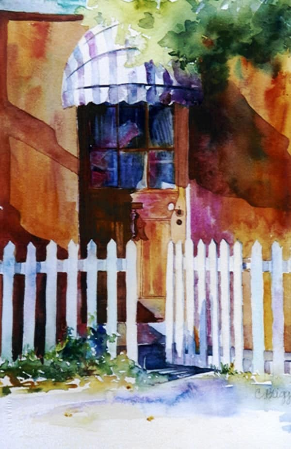 Cottage, Cottage Doorway, Tasmania