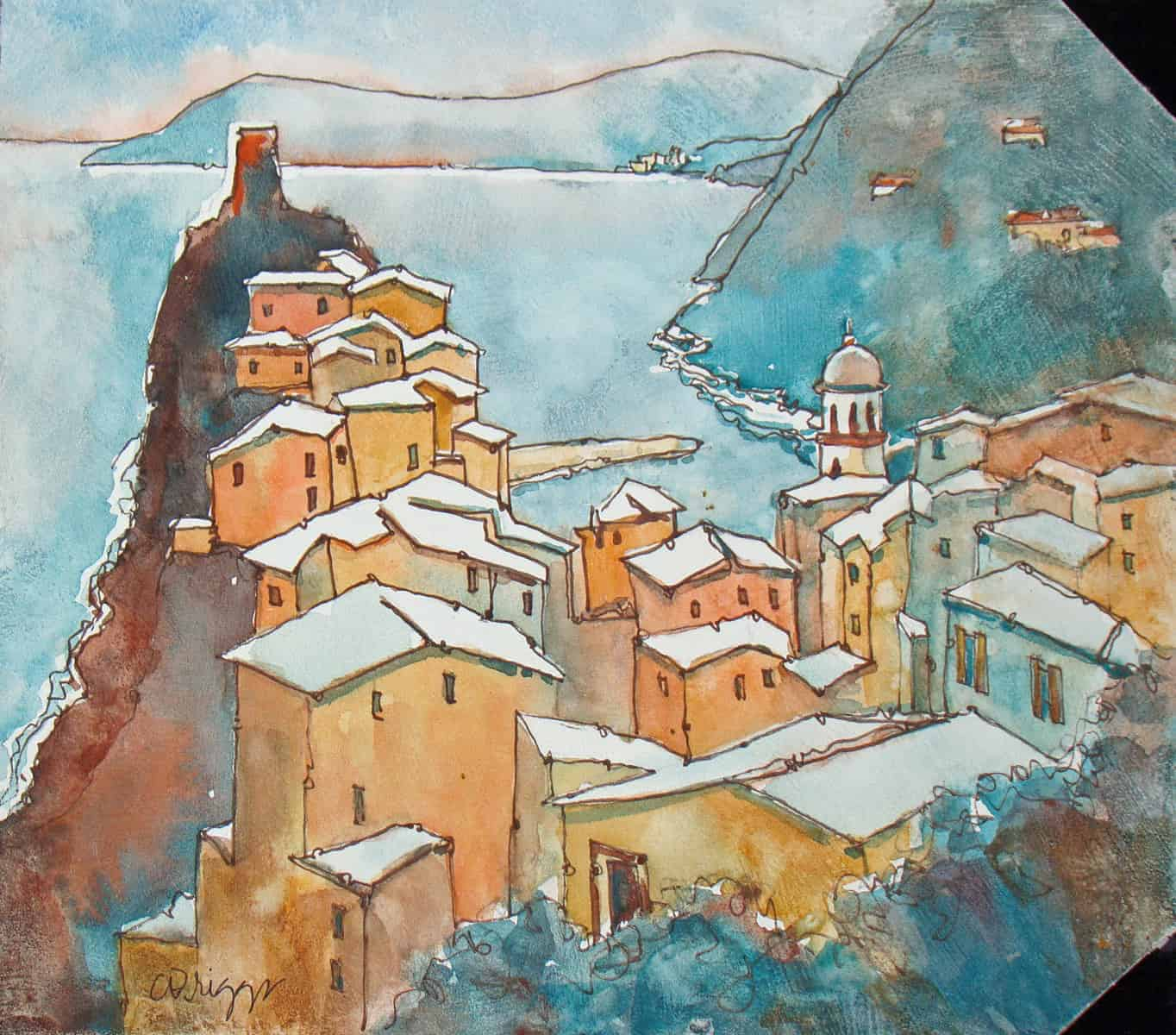 Vernazza, Journal Cover Vernazza