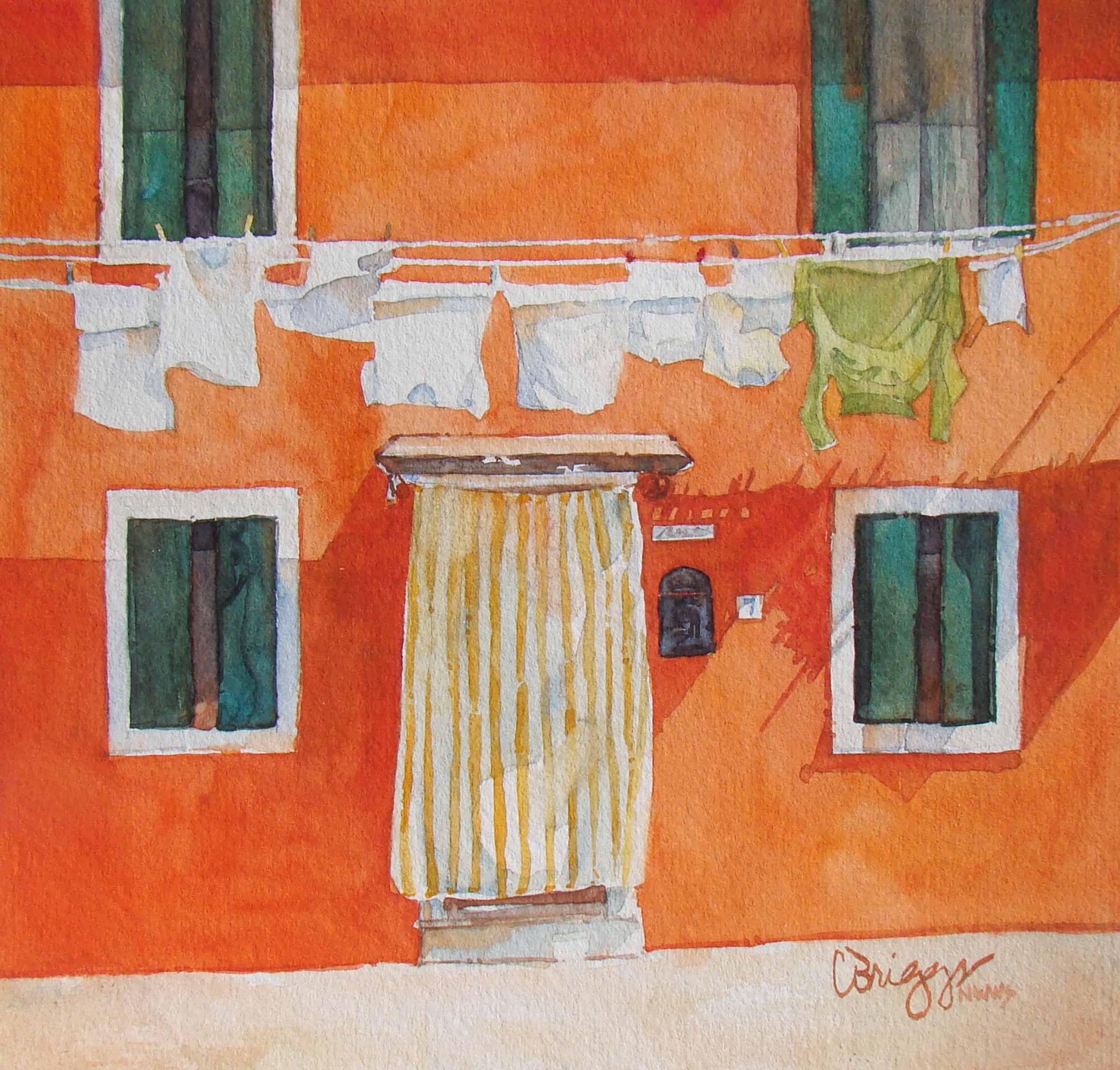 Orange, Orange, Burano Series