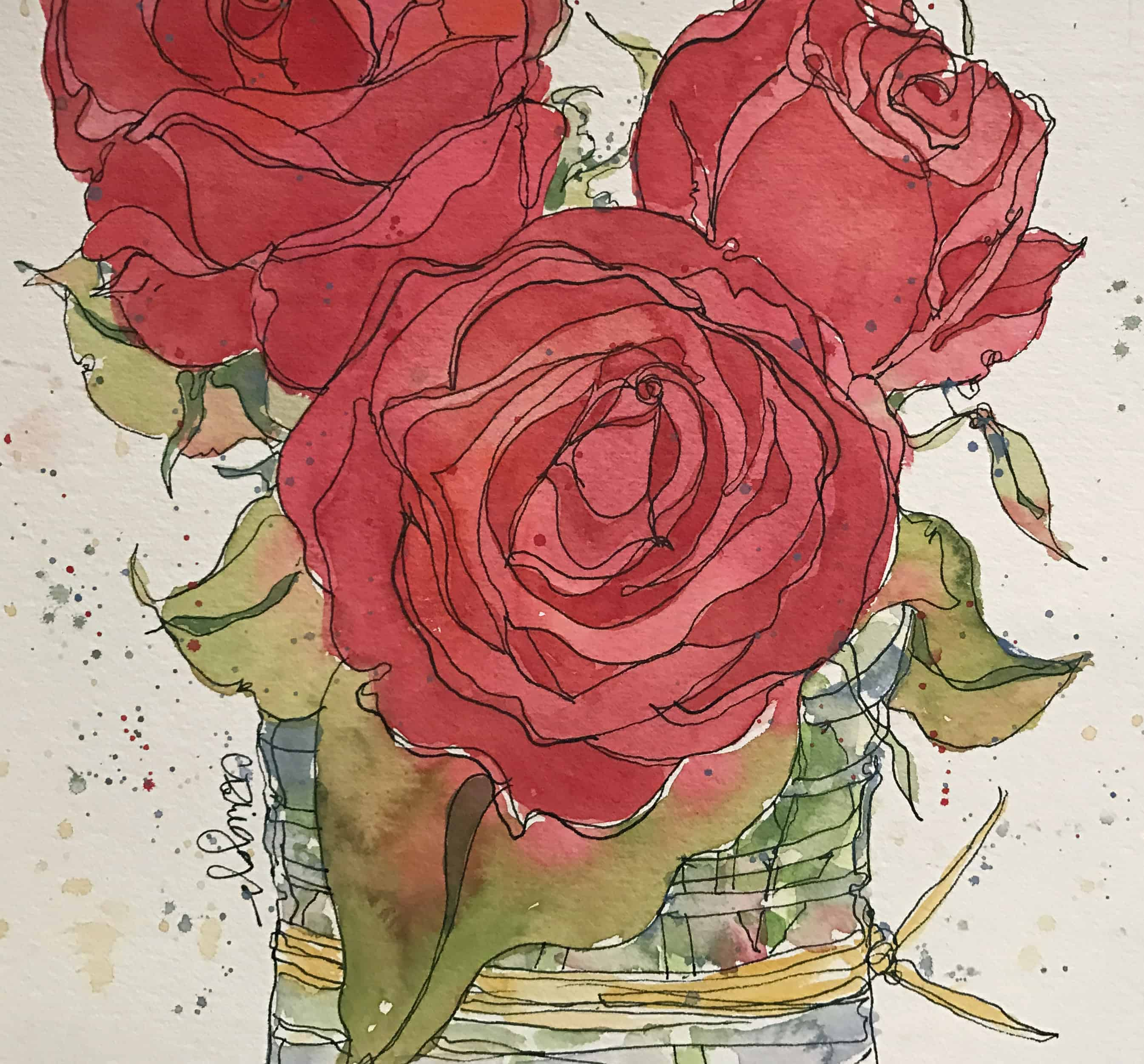 Roses, Roses in Red