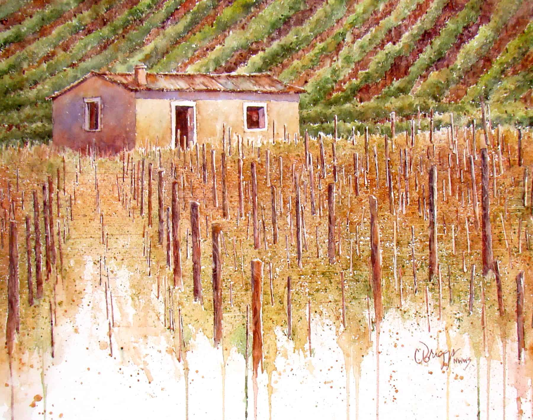 Orcia Watercolor Paintings, Orcia Watercolor Paintings