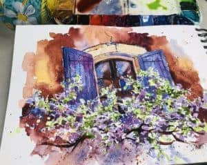 Quick Sketch Watercolors, Quick Sketch Watercolors