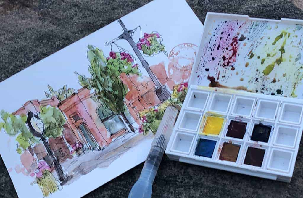 Simple Watercolor Painting Tips