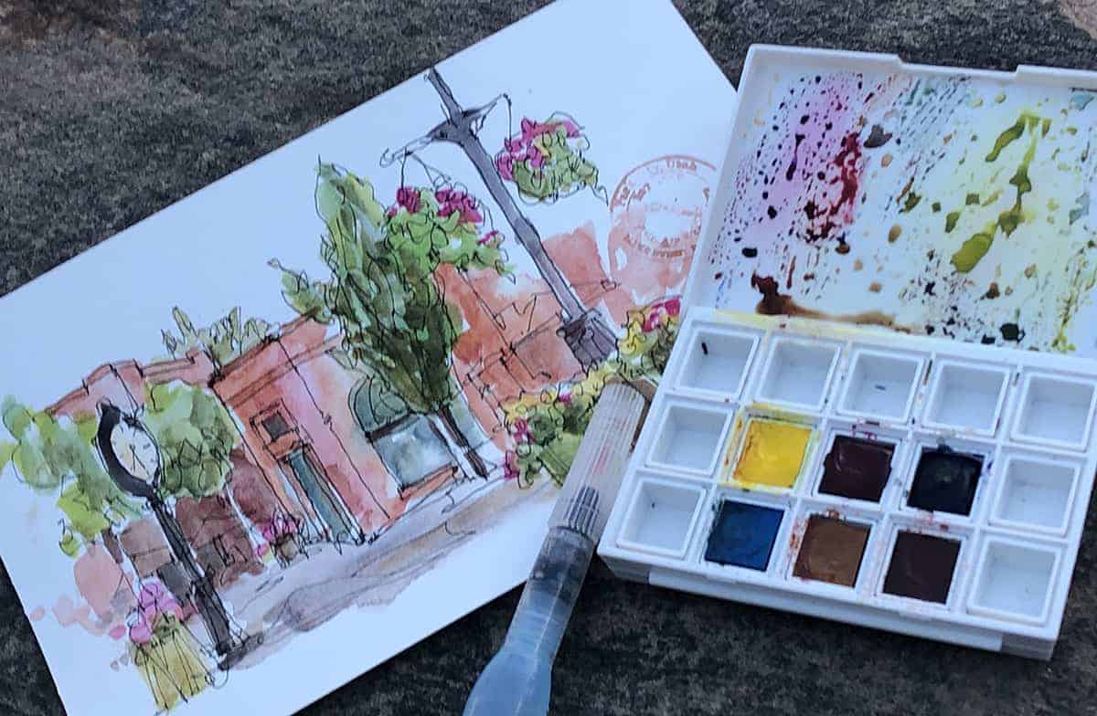 Watercolor Painting Tips, Simple Watercolor Painting Tips