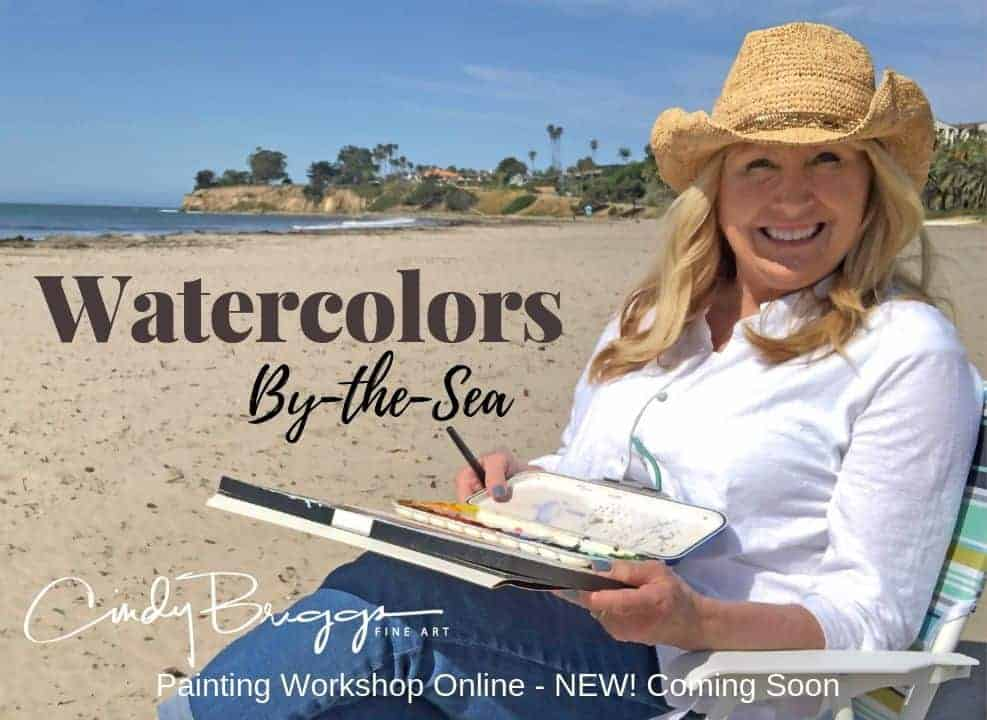 Watercolors by the Sea Cindy
