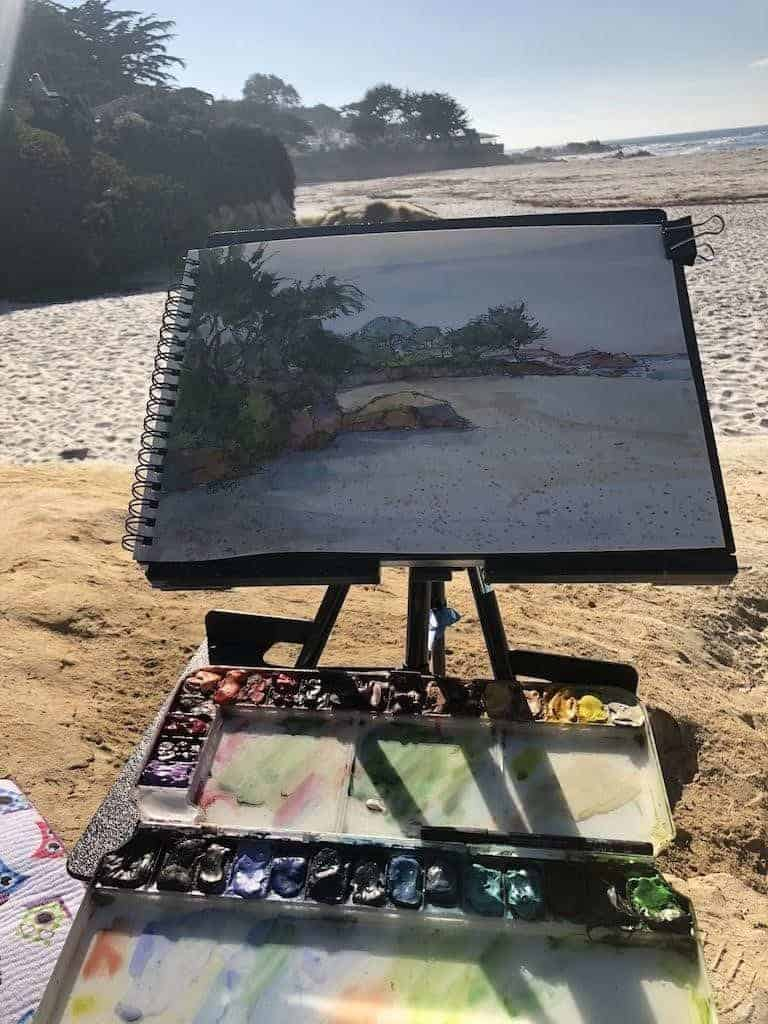Watercolors by the Sea, Watercolors-by-the-Sea: Learn How to Paint Nature
