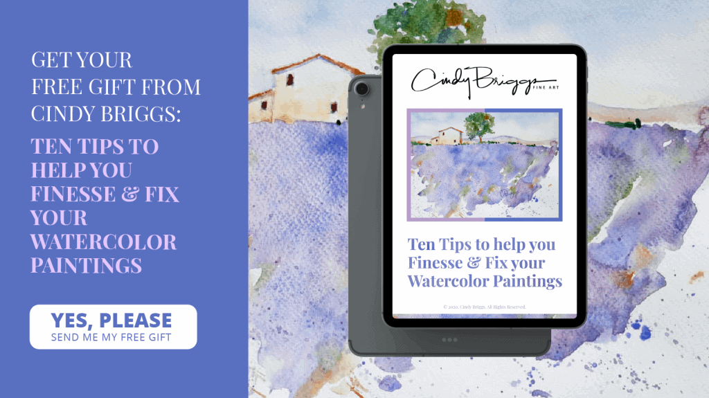Ten Tips to help you Finesse Fix your Watercolor Paintings 02