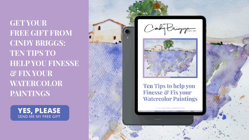 Ten Tips to help you Finesse Fix your Watercolor Paintings 03