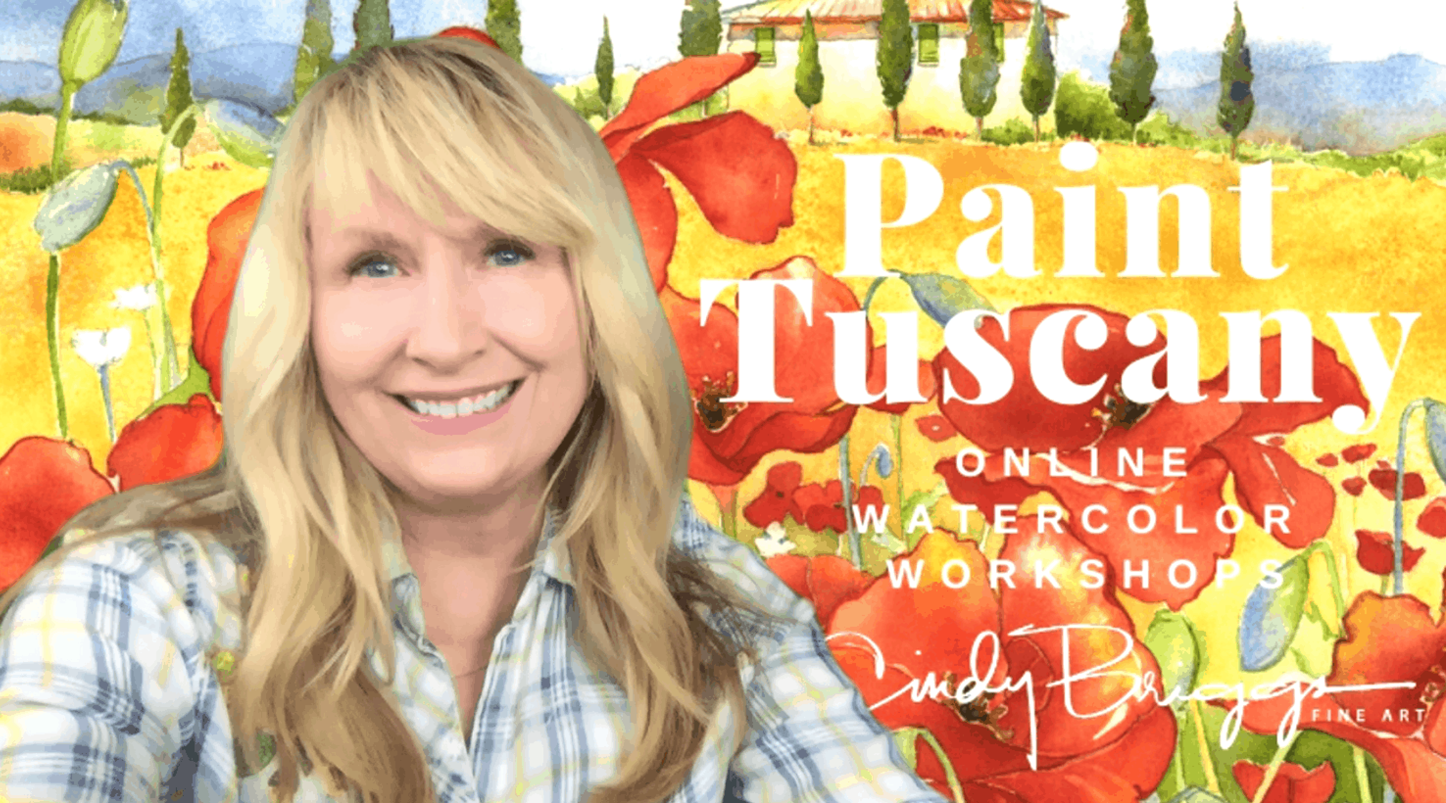 Paint Tuscany with Watercolors | Cindy Briggs Workshops