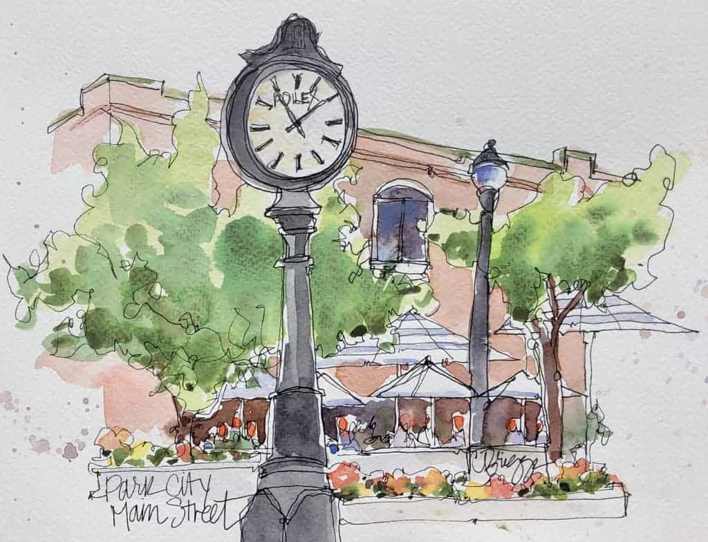 A Charming Painting Experience i n Park City Utah 1 © Cindy Briggs