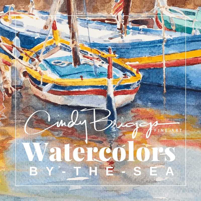 Watercolors by the Sea