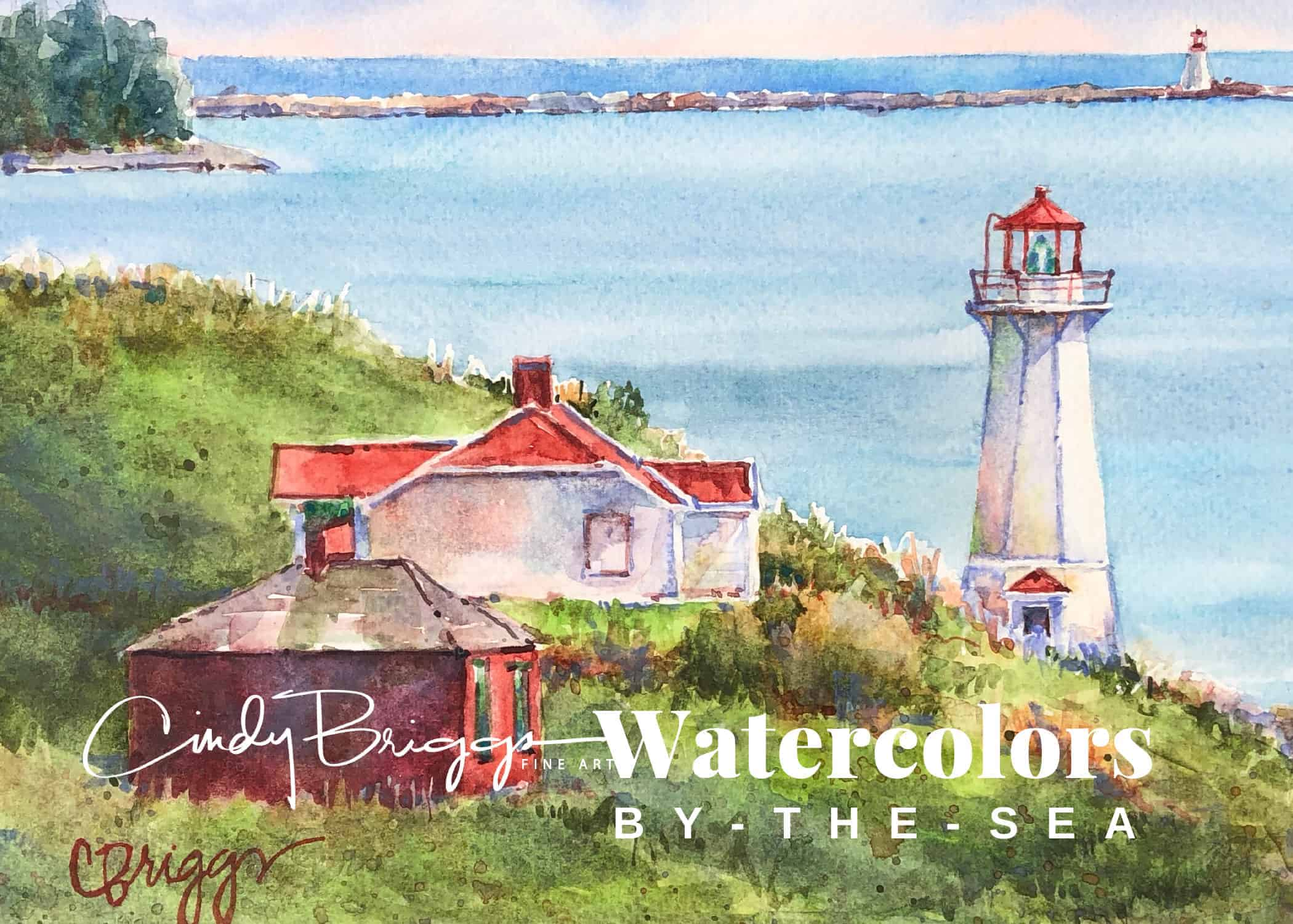East Coast Watercolors by the Sea 1
