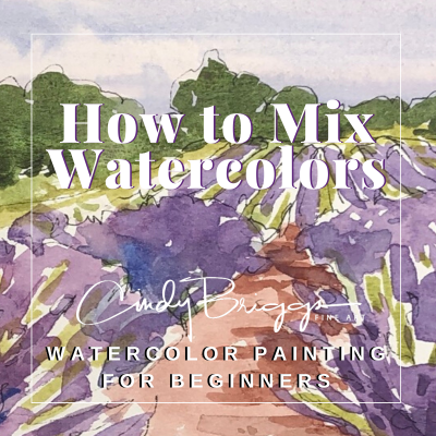 How to Mix Watercolors