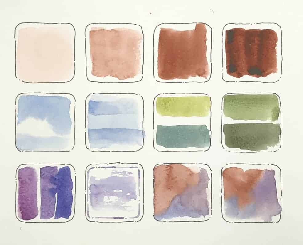 mixing watercolors section three banner