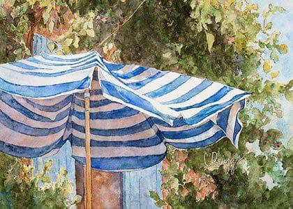 Sunlit Watercolor Utah