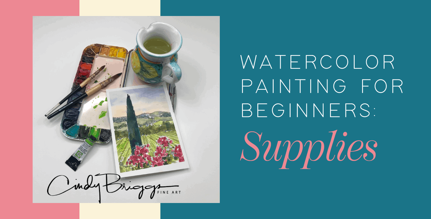 Watercolor Painting for Beginners Supplies