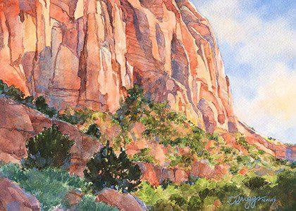 Zion Landscape Utah