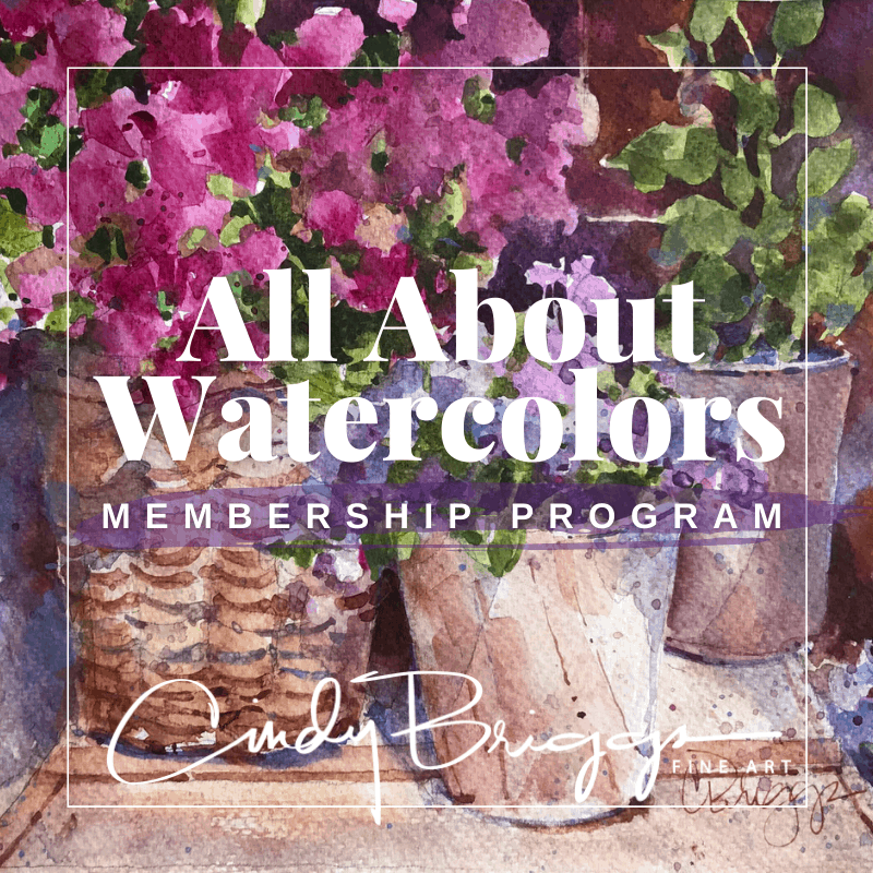 All About Watercolors Square