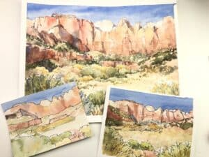 Zion Painting